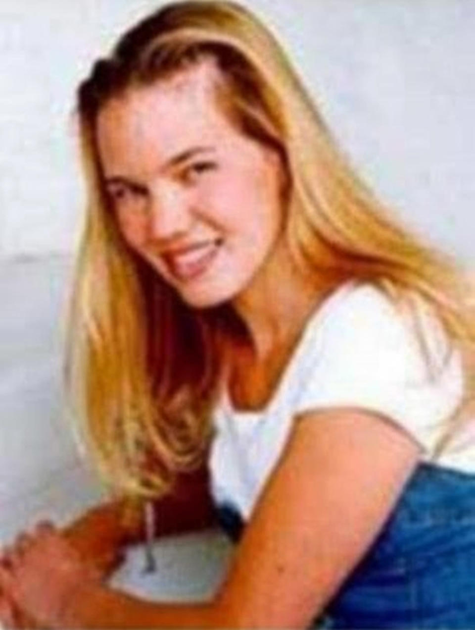 FILE - This undated photo released by the FBI shows Kristin Smart, the California Polytechnic State University, San Luis Obispo student who disappeared in 1996. The San Luis Obispo County sheriff plans a major announcement Tuesday, April 13, 2021, in the nearly 25-year mystery of the disappearance of Smart. (FBI via AP, File)