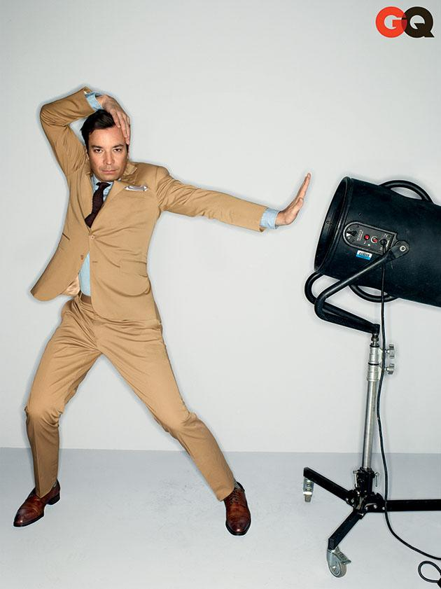 Jimmy Fallon in GQ's April