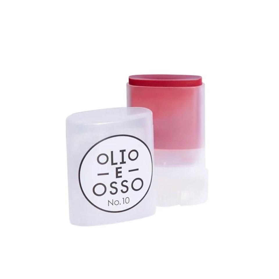 """Add a dash of color to with <a href=""""https://shop-links.co/1720900703855783577"""" rel=""""nofollow noopener"""" target=""""_blank"""" data-ylk=""""slk:Olio E Osso's Tinted Lip and Cheek Balm"""" class=""""link rapid-noclick-resp"""">Olio E Osso's Tinted Lip and Cheek Balm</a> that can easily be built up or kept as a subtle tint. This multiuse twist-up is soft to the touch and glides on effortlessly wherever you decided to blend it. $28, Olio E Osso. <a href=""""https://shop-links.co/1720900703855783577"""" rel=""""nofollow noopener"""" target=""""_blank"""" data-ylk=""""slk:Get it now!"""" class=""""link rapid-noclick-resp"""">Get it now!</a>"""