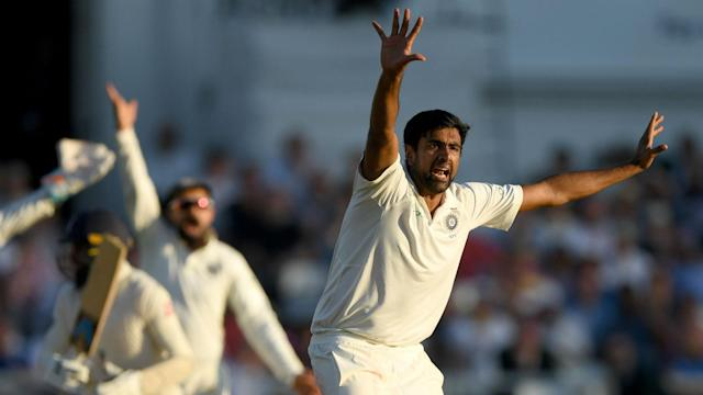 India's Ravichandran Ashwin appeared to be struggling with a hip injury in the field, but that did not stop him bowling out England.