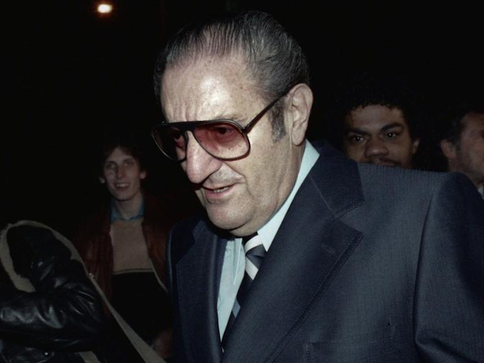 "Paul Castellano as seen in ""Fear City: New York vs. The Mafia."""