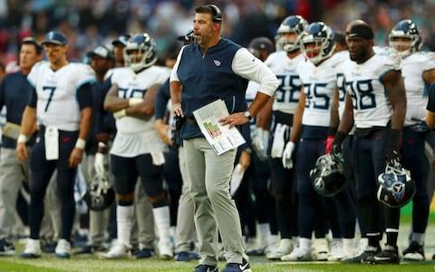 <span>Mike Vrabel's bold call didn't pay off at Wembley</span> <span>Credit: (Naomi Baker/Getty Images) </span>