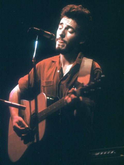 CIRCA 1973: Photo of Bruce Springsteen (