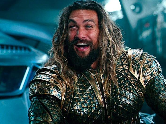 "Jason Momoa as Aquaman in ""Justice League."" Warner Bros."