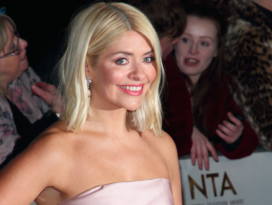 Holly Willoughby has revealed the family Elf On The Shelf is good to go, pictured in January 2020. (PA Images)