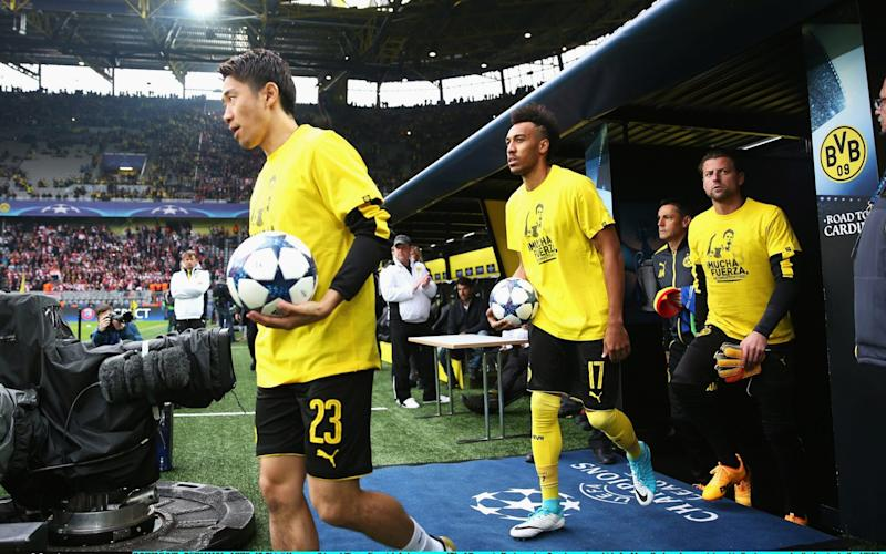 Borussia Dortmund's match was rescheduled after the alleged terrorist attack - Credit: Maja Hitij/Bongarts/Getty Images
