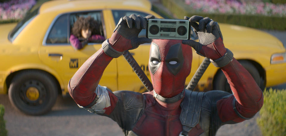 Deadpool 2 (Credit: Twentieth Century Fox via AP)