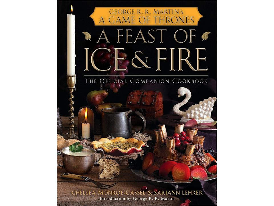 Explore the world of medieval-stylecooking with the 'Game of Thrones' cookbookAmazon