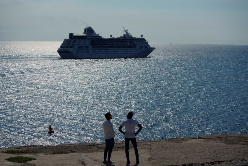 Royal Caribbean cancels 18 cruises, warns coronavirus hit to yearly profit