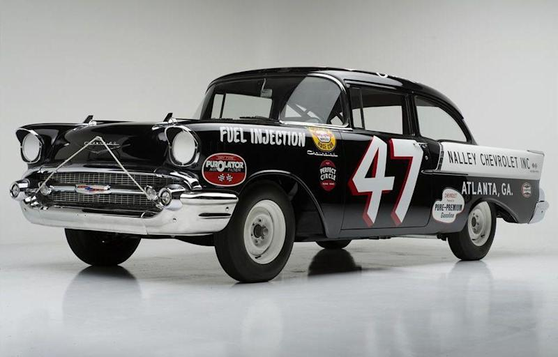 Meet The 57 Chevy Black Widow Nascar Saved Barely