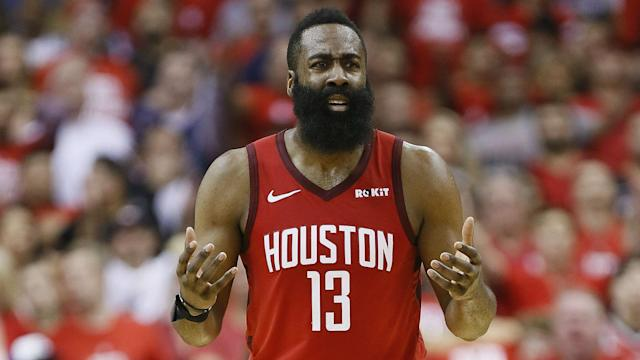 For the third time in his career, Houston Rockets star James Harden was an MVP runner-up.