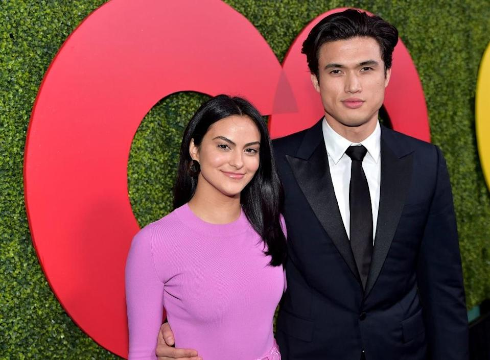 """<p>Just a few months after celebrating their one-year anniversary together, Camila Mendes and Charles Melton are taking some time apart, according to sources who spoke to <a href=""""https://www.eonline.com/news/1099174/riverdale-s-camila-mendes-and-charles-melton-are-taking-a-break?cmpid=web-notification&source=web-notification&medium=browser&content="""" rel=""""nofollow noopener"""" target=""""_blank"""" data-ylk=""""slk:E! News"""" class=""""link rapid-noclick-resp""""><em>E! News</em></a><em>.</em> The couple stars on <em>Riverdale</em> together, and the insiders say nothing particular happened; they're just incredibly busy with work and other projects.</p> <p>""""Cami and Charles have been separated for a few months now. They are taking a break from their relationship,"""" the source said. """"Their relationship escalated very quickly and they are taking time now to focus on their work and themselves.""""</p>"""