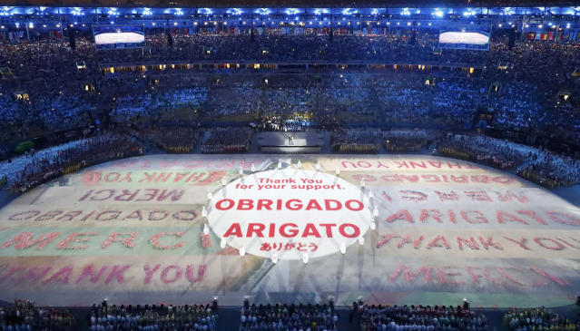 <p>Performers take part in the closing ceremony for the 2016 Rio Olympics. Tokyo will host the Summer Games in 2020. (REUTERS/Fabrizio Bensch) </p>