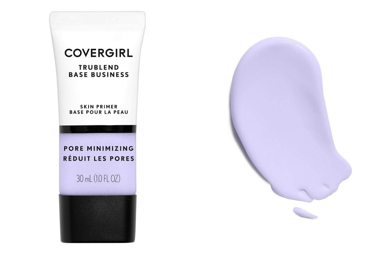"<p><strong>CoverGirl</strong></p><p>amazon.com</p><p><strong>$4.59</strong></p><p><a href=""http://www.amazon.com/dp/B07CKVS6W3/?tag=syn-yahoo-20&ascsubtag=%5Bartid%7C10065.g.28552649%5Bsrc%7Cyahoo-us"" target=""_blank"">Shop Now</a></p><p>This primer will minimize and blur your pores while also dulling the shine, leaving you skin matte and ready to take on makeup. </p>"