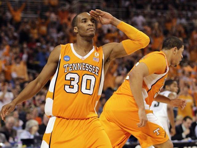 J.P. Prince with Tennessee in 2010. (AP)