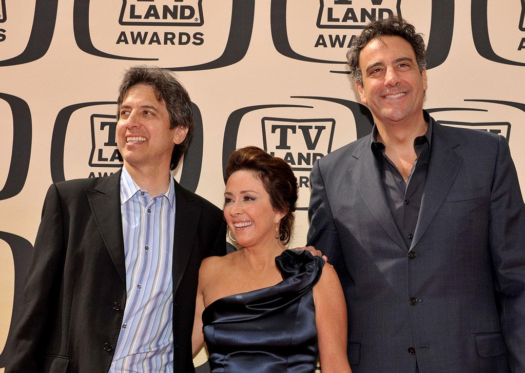 """Ray Romano, Patricia Heaton, and Brad Garrett (""""Everybody Loves Raymond"""" arrive at the <a href=""""/the-8th-annual-tv-land-awards/show/46258"""">8th Annual TV Land Awards</a> at Sony Studios on April 17, 2010 in Los Angeles, California. The show is set to air Sunday, 4/25 at 9pm on TV Land."""