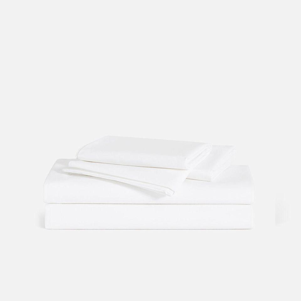 "<p><strong>Brooklinen</strong></p><p>brooklinen.com</p><p><a href=""https://go.redirectingat.com?id=74968X1596630&url=https%3A%2F%2Fwww.brooklinen.com%2Fproducts%2Fluxe-hardcore-sheet-bundle&sref=https%3A%2F%2Fwww.bestproducts.com%2Flifestyle%2Fg34618159%2Fblack-friday-cyber-monday-deals-2020%2F"" rel=""nofollow noopener"" target=""_blank"" data-ylk=""slk:Shop Now"" class=""link rapid-noclick-resp"">Shop Now</a></p><p><del>$240.00 </del><strong>$192.00 (20% off)</strong></p><p>If your bed is currently doubling as your home office, there's no better time to upgrade your bedding than during Brookinen's Black Friday sale, with 20% off site-wide, including the brand's best-selling Luxe Hardcore Sheet Bundle. It comes with their core sheet set, duvet cover, and two pillowcases, so you don't need to shop any further for the best slumber of your dreams.</p>"