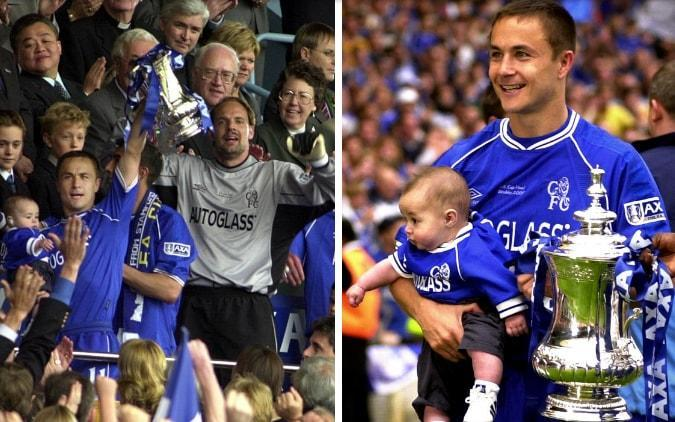 Dennis Wise exclusive: Winning FA Cup took Chelsea to a new level - and, yes, my son still cringes at that photo - PA ARCHIVE