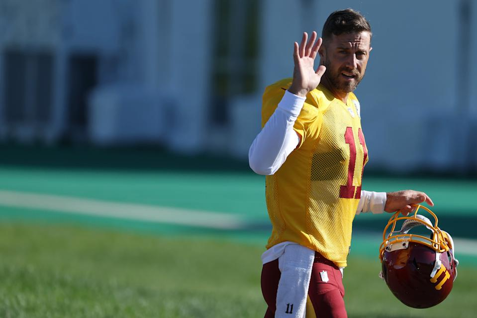 If Washington decides to move on from Alex Smith this offseason, teams with young QBs who need to learn should be lining up for his services. (Geoff Burke-USA TODAY Sports)