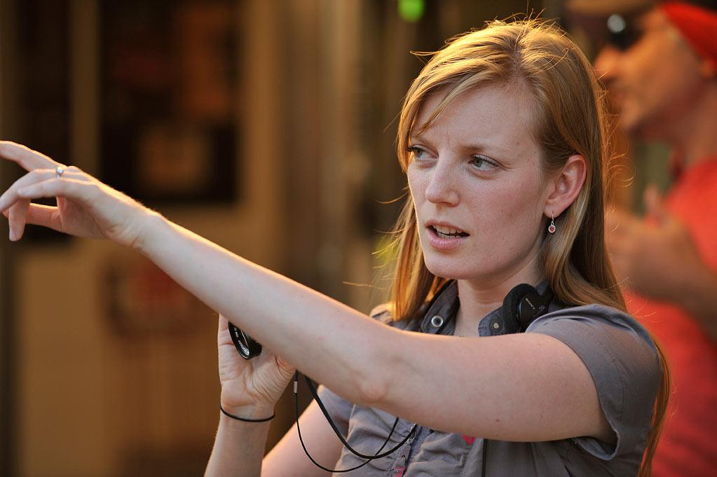 "Director Sarah Polley on the set of Magnolia Pictures' ""Take This Waltz"" - 2012"