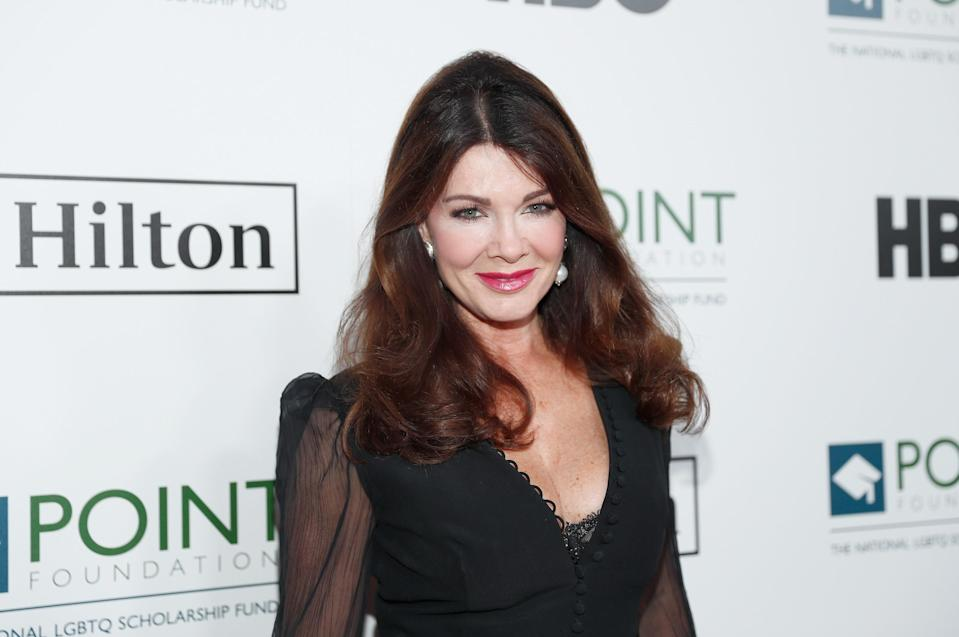 Lisa Vanderpump at an event in Beverly Hills, Calif. (Rich Polk/Getty Images for Point Foundation )
