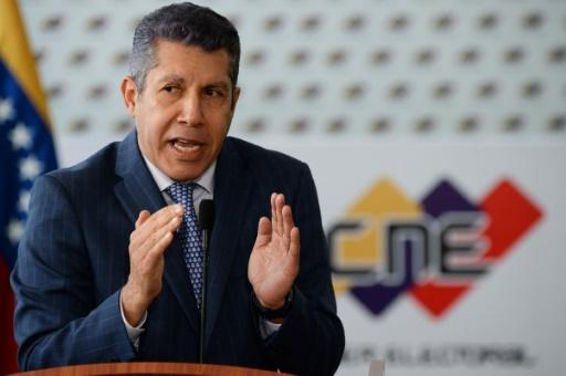 Opposition candidate Henri Falcon will take on  President Nicolas Maduro, ho is seeking reelection in crisis-wracked Venezuela