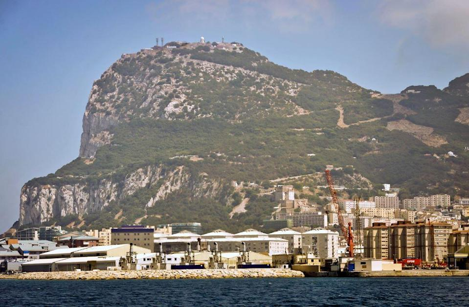 Sticking point? Spain has threatened to reject the draft Brexit deal vote over the future status of Gibraltar (PA)