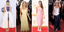 <p>We're looking back at what our favorite stars wore their very first time out to the Primetime Emmy Awards. Prepare for some funny, impressive, oh-that's-<em>so</em>-her stuff.</p>