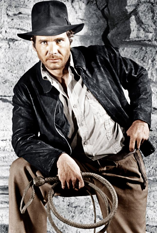 """""""Raiders of the Lost Ark"""": """"I like adventure and action movies and archaeology and history,"""" said Simpkins who had a part in Steven Spielberg's """"War of the Worlds."""" He added, """"I liked Indiana Jones even before I met Mr. Spielberg."""""""