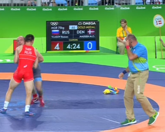 Mystery solved: Why are stuffed animals being thrown in Olympic wrestling?