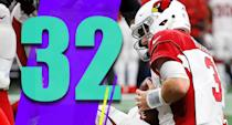<p>The Green Bay win seems like a distant memory after two horrid performances. What a mess in Arizona. (Josh Rosen) </p>