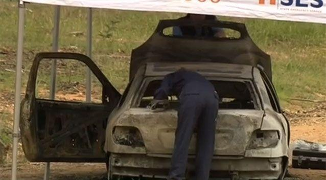 Ms Chetcuti's car was found burnt out 20 kilometres away in Myrtleford