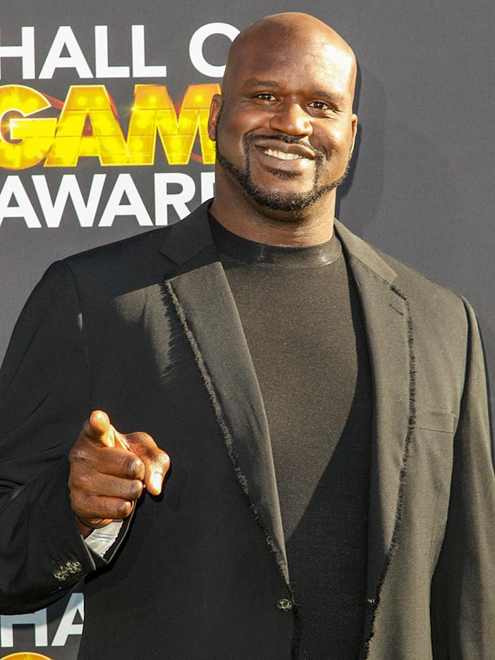 """Shaquille O'Neal (""""Upload With Shaquille O'Neal"""") is a guest of the Huffington Post."""