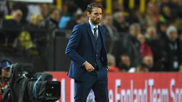 The Three Lions boss was pleased with what he saw from his team in Dortmund on Wednesday, despite the result