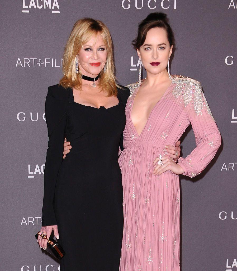 <p>In other news, Dakota Johnson was also raised in an ultra-famous family herself. Her mom is Melanie Griffith, a major star since the 80s. </p>