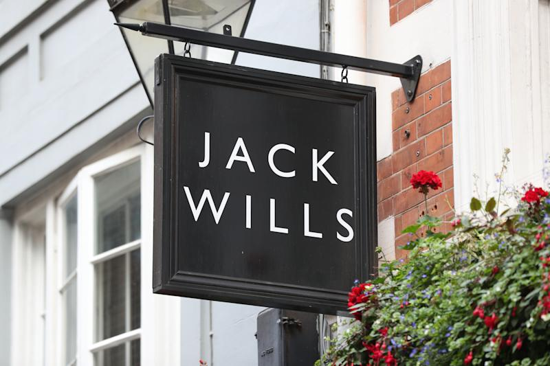 The Jack Wills store on Foubert's Place in Soho, London. Sports Direct has won the bidding war for Jack Wills, adding yet another brand to Mike Ashley's high street empire. (Photo by Jonathan Brady/PA Images via Getty Images)