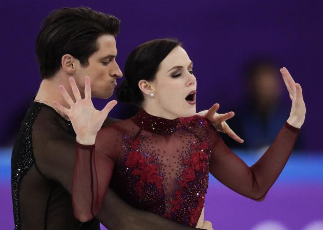 <p>Canada's Tessa Virtue and partner Scott Moir have just won their second gold and fourth overall Olympic medal together. Although PyeongChang looks set to be Tessa's final Olympic Games, she will exit the ice as one half of the most decorated Canadian ice dance team of all time. (AP) </p>