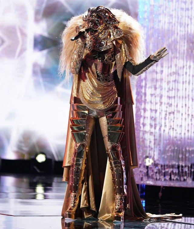 The Lion on Fox's 'The Masked Singer'
