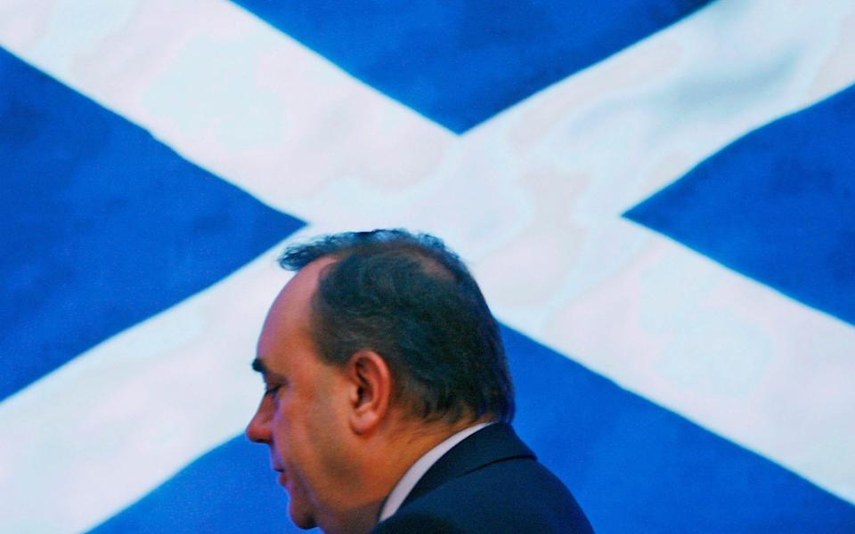 The Alba leader wants his new party to establish a Holyrood 'supermajority' for independence after May's election - David Moir/Reuters