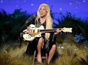 "<p>Mother Monster started the year with a bang — earning a Golden Globe for her star turn on ""American Horror Story,"" delivering a stunning performance of ""'Til It Happens to You"" at the Oscars, and singing a flawless national anthem at Super Bowl 50. She followed this a week later with a stunning if somewhat polarizing tribute to the late David Bowie at the 2016 Grammys. In July, she attracted headlines for her breakup with longtime love Taylor Kinney, but quickly overshadowed her personal life with the promise of her upcoming fifth album, ""Joanne,"" named for her late paternal aunt. ""Joanne"" was released in late October, a few short weeks after news circulated that Gaga would be headlining the actual halftime show (not just singing the anthem) at the 2017 Super Bowl. Following the results of the presidential election in November, Gaga made waves protesting outside of NYC's Trump Tower with a sign reading ""Love Trumps Hate."" (Photo: Kevin Winter/Getty Images) </p>"