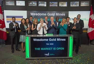 Wesdome Gold Mines Ltd. Opens the Market (CNW Group/TMX Group Limited)