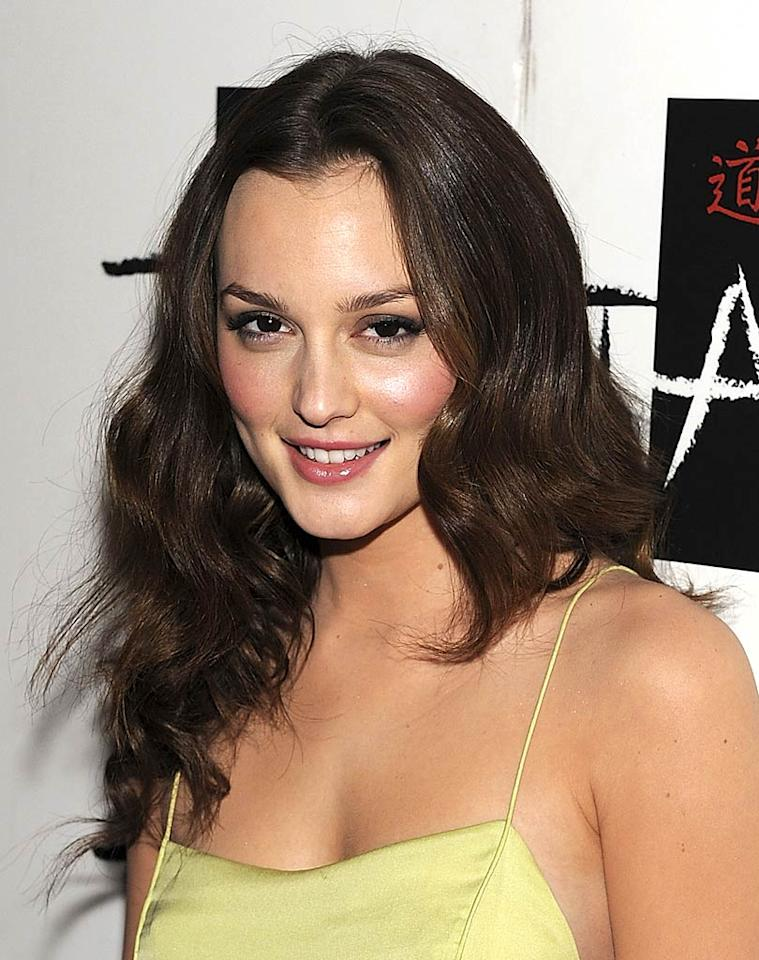 "Today, ""Gossip Girl"" fans know Leighton Meester as beautiful schemer Blair Waldorf, whose chocolate locks are always lovely and often accessorized with one of her many headbands. Steven Lawton/<a href=""http://www.filmmagic.com/"" target=""new"">FilmMagic.com</a> - January 2, 2010"