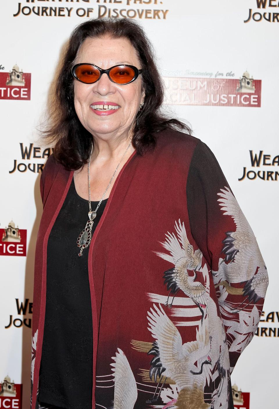 <strong>Shelley Morrison (1936-2019)<br /></strong>The actress is best known for her portrayal of Rosario Salazar, Karen's maid in the hit sitcom Will & Grace.<strong></strong>