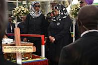 New President Samia Suluhu Hassan has declared 21 days of mourning for her predecessor