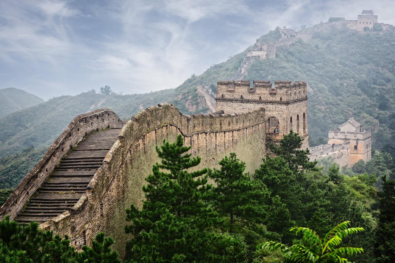 "<p>Take a tour along the 3,000-mile expanse of <a href=""https://www.thechinaguide.com/destination/great-wall-of-china"" target=""_blank"" class=""ga-track"" data-ga-category=""Related"" data-ga-label=""https://www.thechinaguide.com/destination/great-wall-of-china"" data-ga-action=""In-Line Links"">The Great Wall of China</a>. </p>"