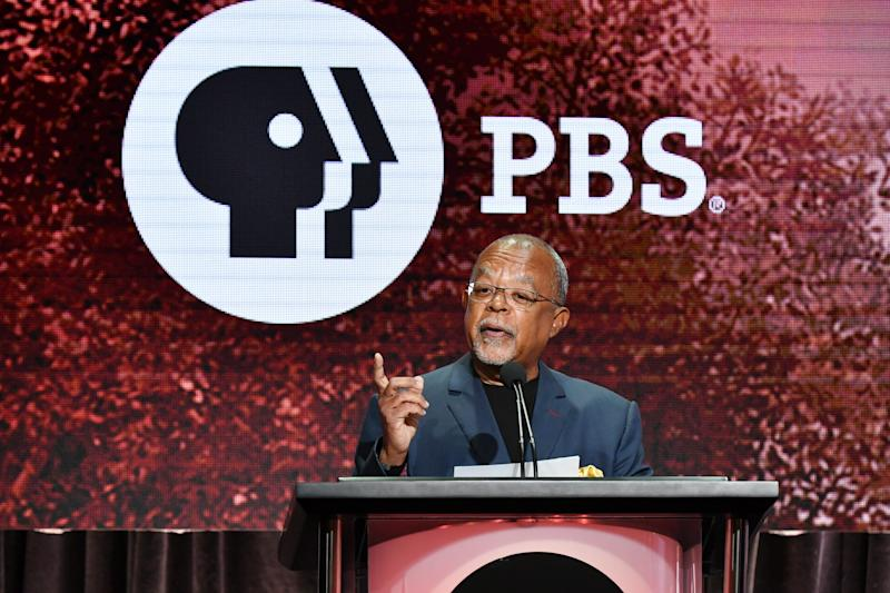 Henry Louis Gates Jr., host and executive producer of PBS's 'Finding Your Roots,' speaks at the Television Critics Association summer press tour on Monday.