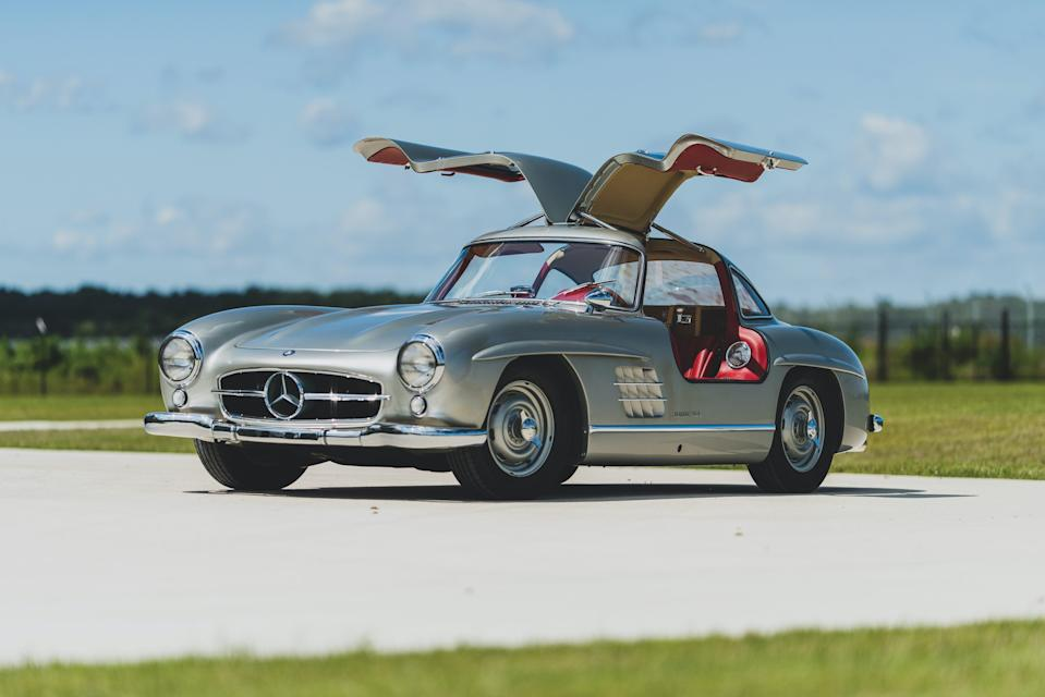 1955 Mercedes Benz 300 SL Gullwing _0
