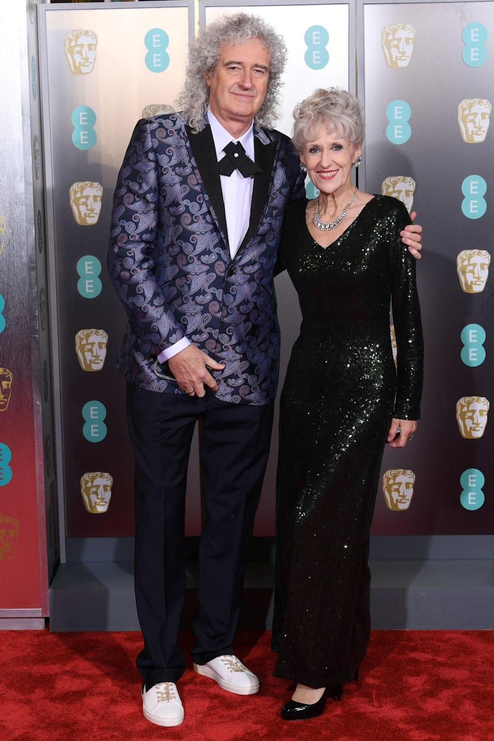 Queen's Brian May Says Wife Anita Dobson 'Totally Saved My Life' Following Heart Attack