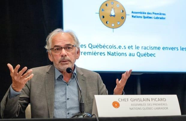 Ghislain Picard, Chief of the Assembly of First Nations for Quebec and Labrador, said he stands by Jocelyne Ottawa. (Ryan Remiorz/The Canadian Press - image credit)