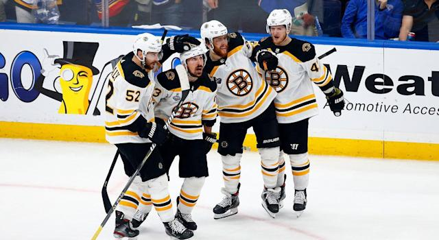 Bruins rose to the challenge in Game 6. (Getty)